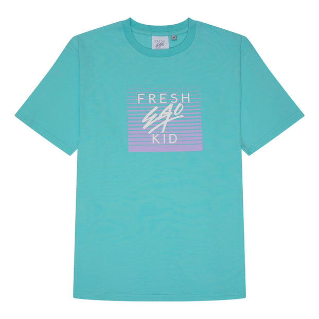 Mirage box logo print t-shirt in mint green