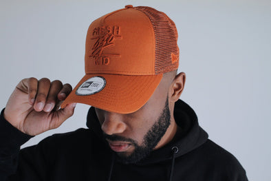 New Era Mesh Trucker - Rust