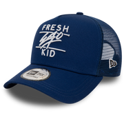 New Era Mesh Trucker in Royal Blue