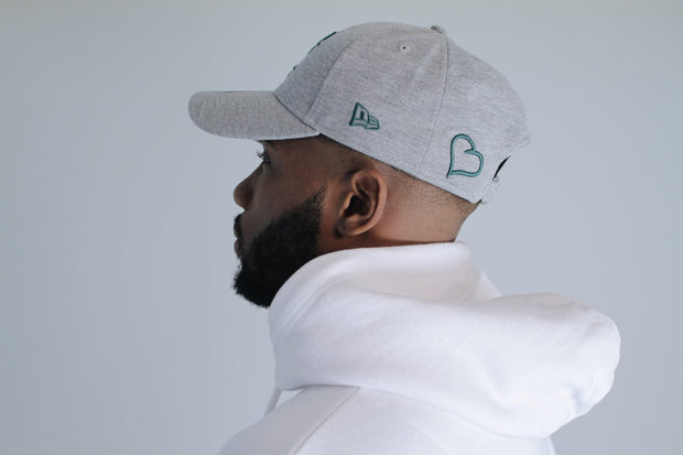 New Era 9FORTY Polo – Grey/Teal