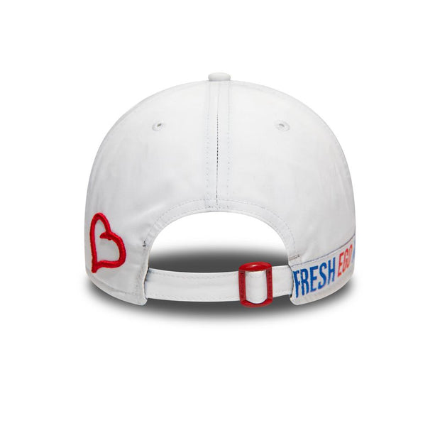 New Era Taped 9FORTY Polo - White