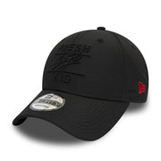 New Era Taped 9FORTY Polo – Black
