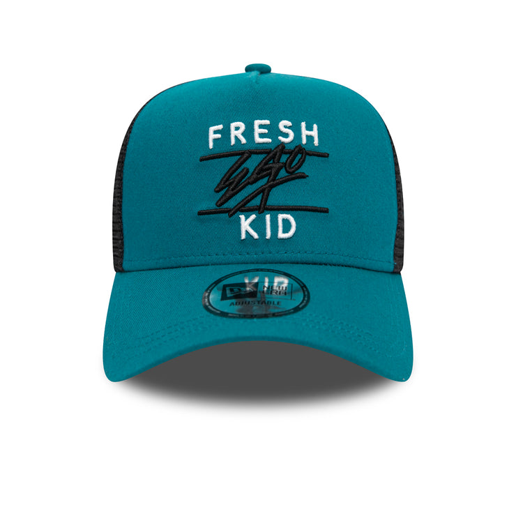 NEW ERA MESH TRUCKER IN TEAL