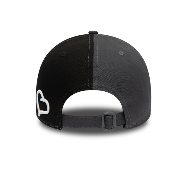 New Era 9FORTY Polo Cap in Grey & Black