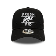 New Era 940 e-frame mesh distressed in black