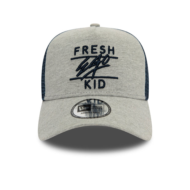 New Era Mesh Trucker in grey