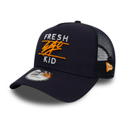 New Era Mesh Trucker In Navy