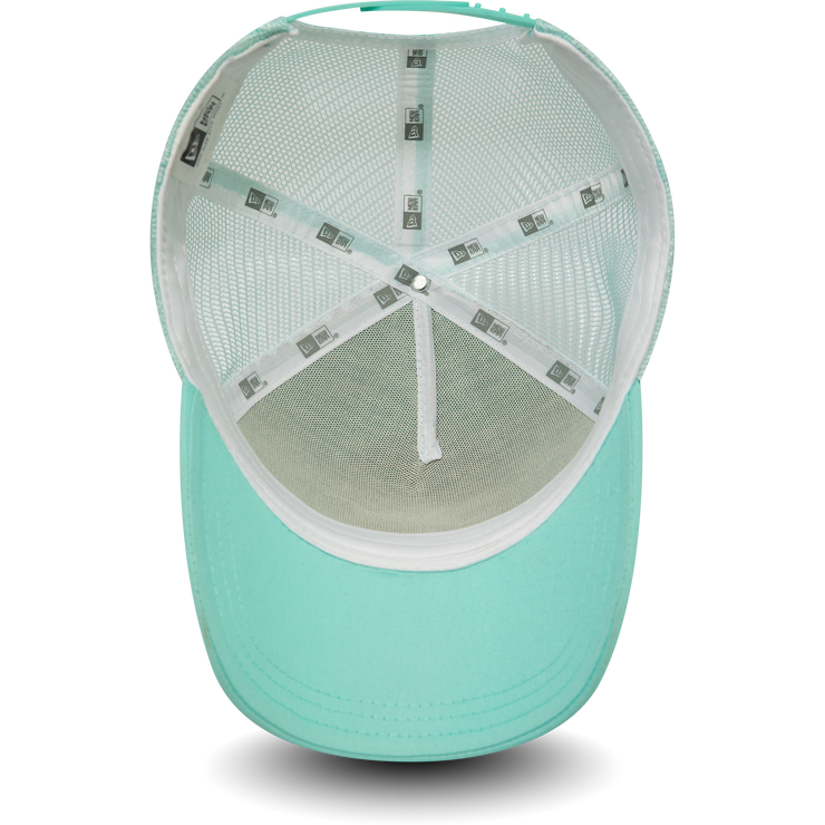 New Era Mesh Trucker in Mint Green