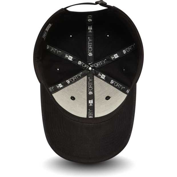 New Era 9FORTY Polo Cap in black