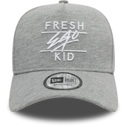 New Era Trucker in Grey