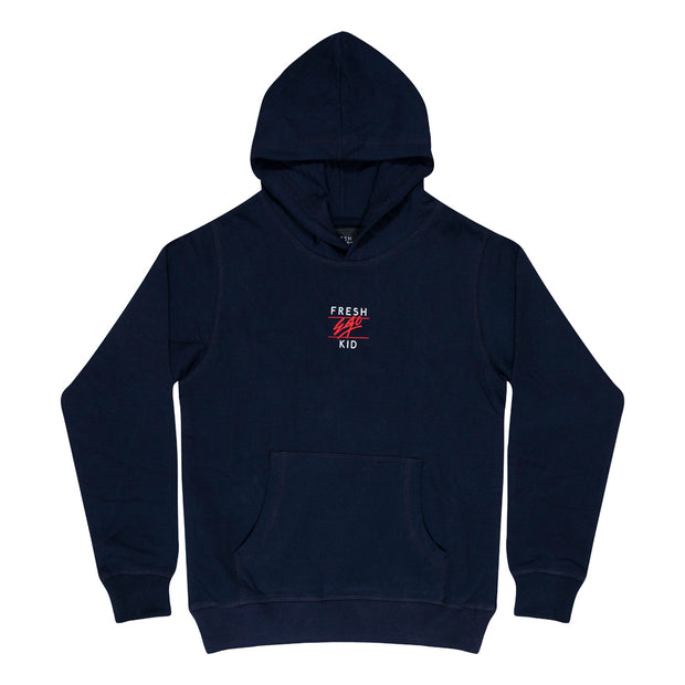 Kids Central Logo Hoodie in Navy