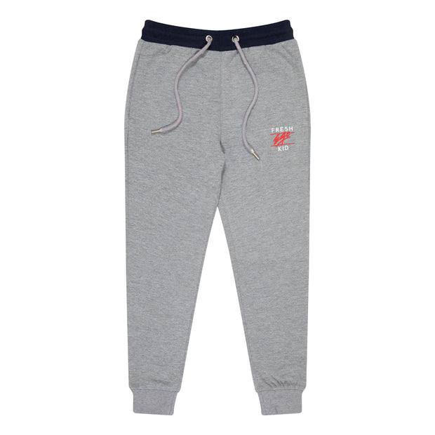 Kids Heritage Logo Joggers in Grey