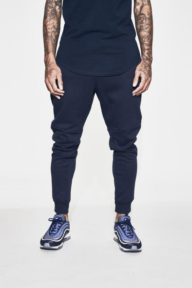 FRESH EGO KID LIGHTWEIGHT TECH JOGPANTS - NAVY