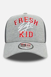 New Era Varsity trucker in grey