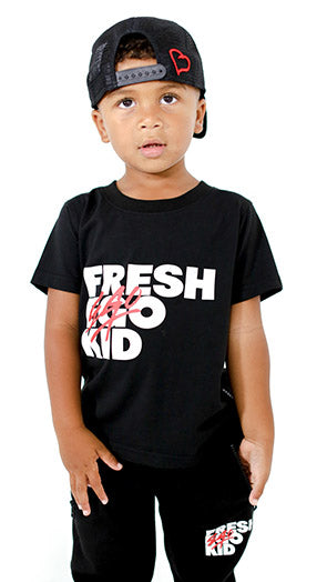 FEK Kids Black Logo T-Shirt