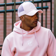 New Era Mesh Trucker in Pink