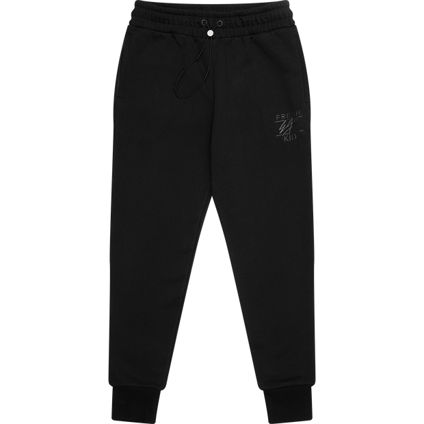 Core collection logo joggers in black