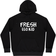 Fresh Ego hoodie in black and white