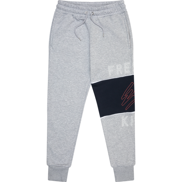 Heritage panel joggers in grey