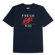Big Heritage Logo T-shirt in Navy