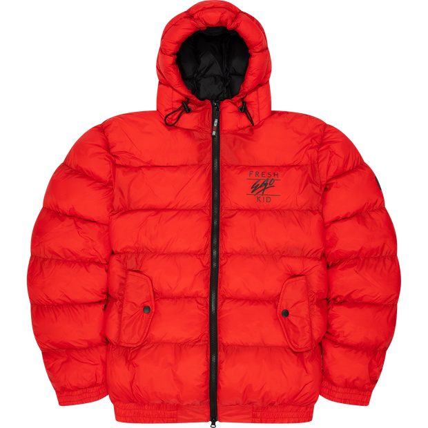 Classic Fresh Ego Kid Puffer In Red