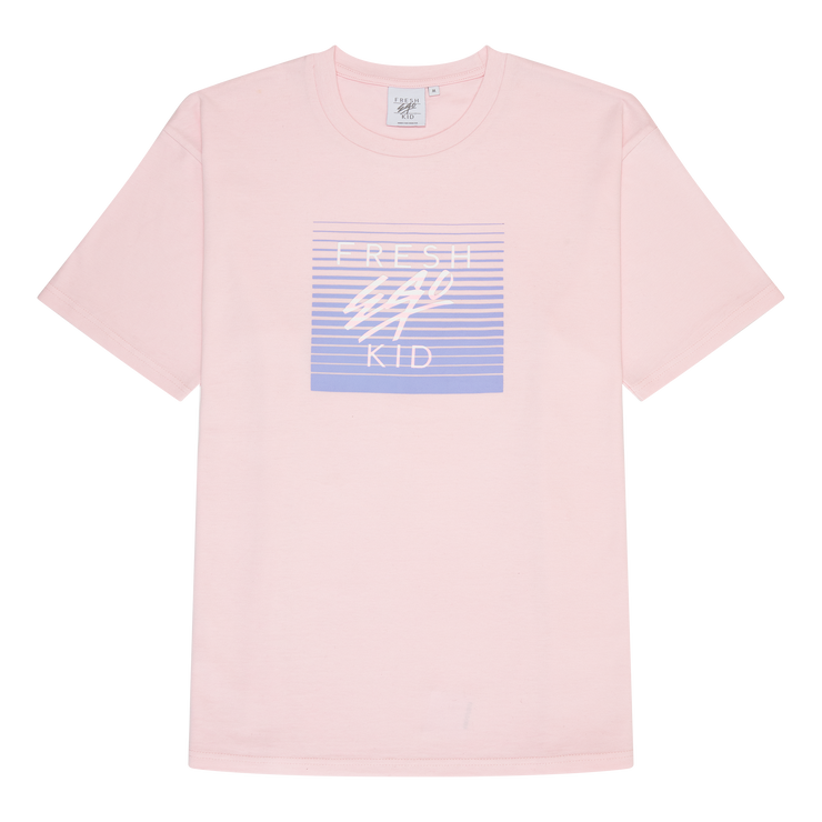 Mirage box logo print t-shirt in rose pink