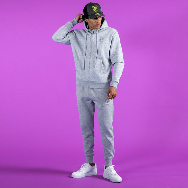 Core tracksuit in grey