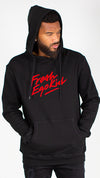 Fresh Ego Kid Black/Red Script Logo Hoody