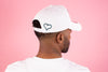 NEW ERA WHITE ADJUSTABLE COTTON TWILL