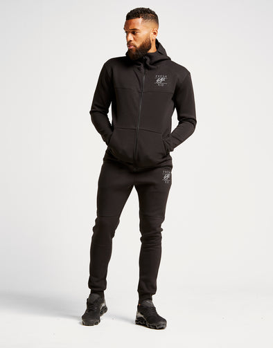 Fresh Ego Kid Tech Tracksuit - Black