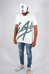 EGO T-SHIRT PINE & NEW ERA PINE ADJUSTABLE COTTON TWILL SET