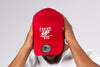 Fresh Ego Kid Red/White Cotton Trucker Cap