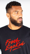 Fresh Ego Kid Black/Red Script Logo T-Shirt