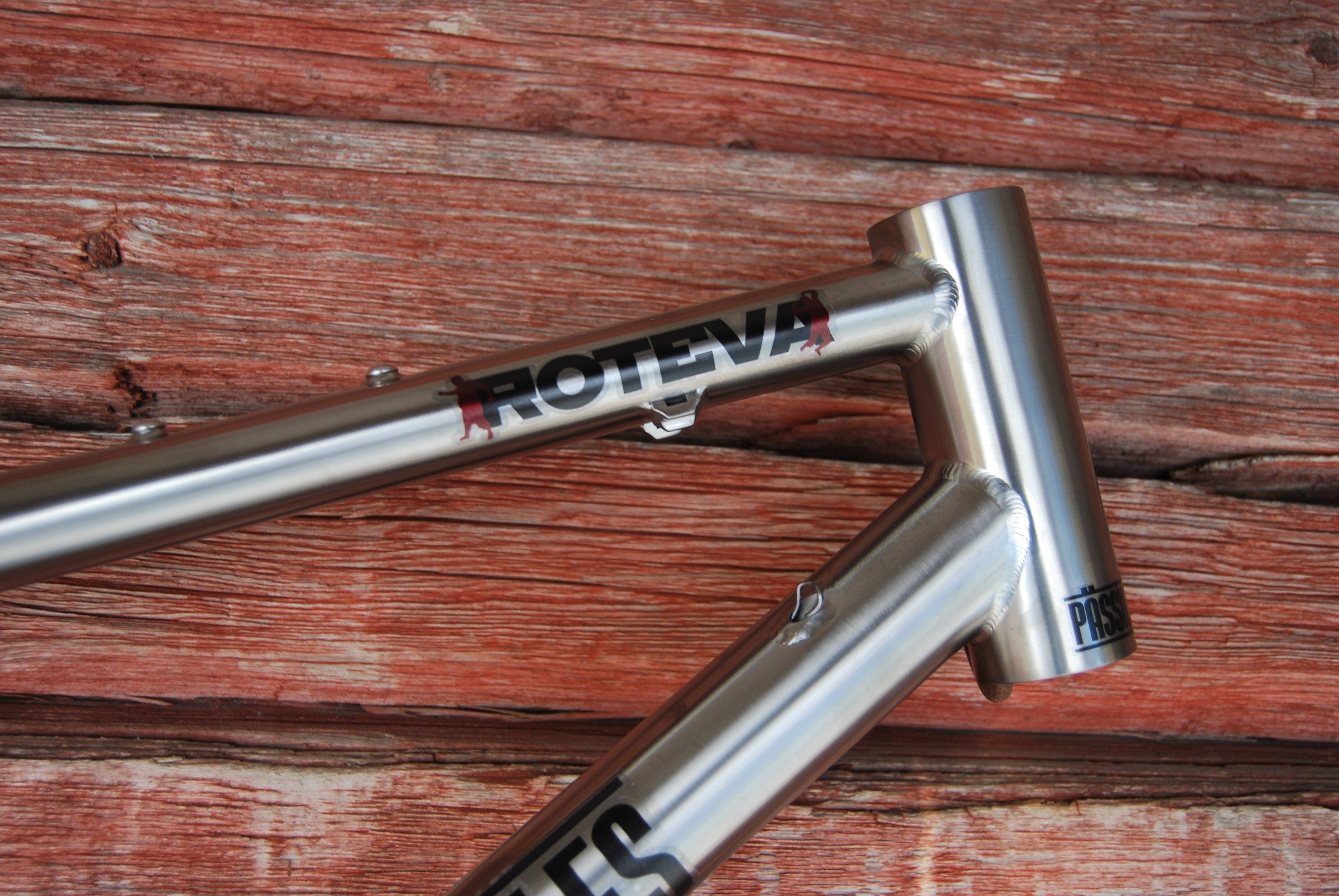 Roteva Titanium Adventure and Bikepacking Frame