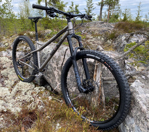 Rämäkkä Long Titanium Enduro and Trail Frame