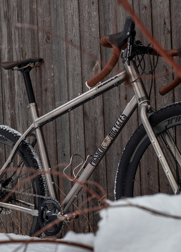 Murska Titanium Gravel and Adventure Frame