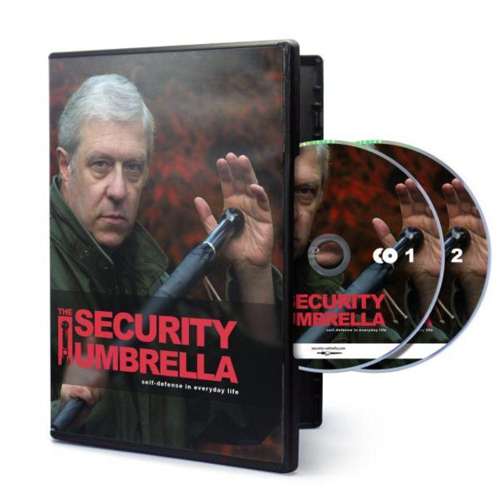 DVD Instructional Course – How to effectively use the umbrella in case of an emergency - selfdefense-umbrellaUS