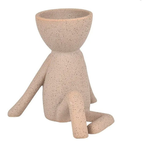Casual Pose Planter Nude Sand