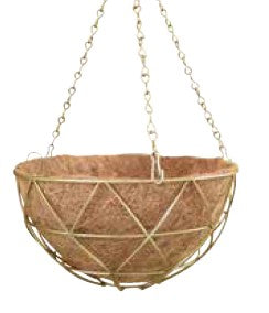 Alice Triangle Hanging Basket 30cms