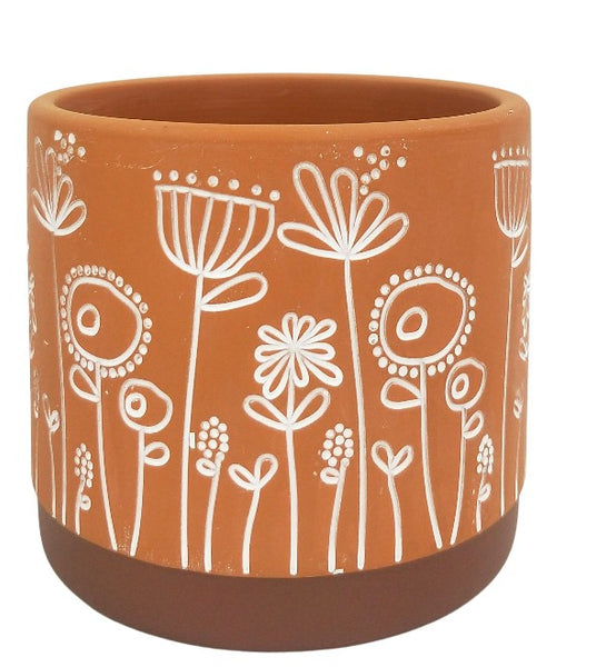 Bree Planter Terracotta Small