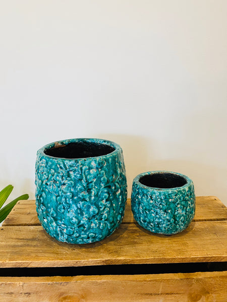 Two Pack Pots Deep Green/Emerald