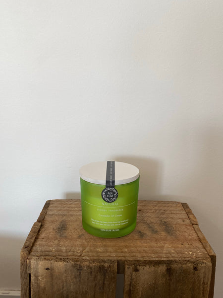 Natural Fragrance Cucumber & Cream Soy Base Candle 120g