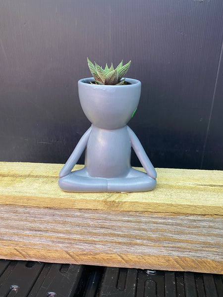 Easy Pose Meditation Pot