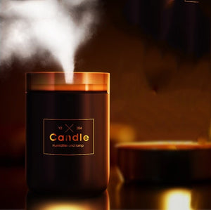 Candle Soft Light USB Essential Oil Diffuser