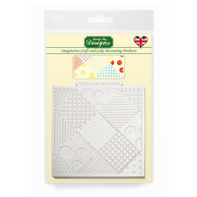 C&D - Patchwork Quilt Silicone Mold pack shot