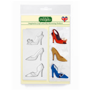 C&D - Katy Shoes Silicone Mold Pack Shot