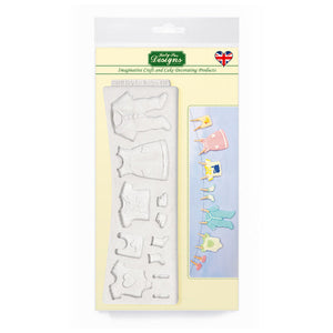 C&D - Baby Clothes Washing Line Mold Pack Shot