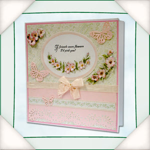 C - An idea using the Floral Sentiment stamp design 2 product