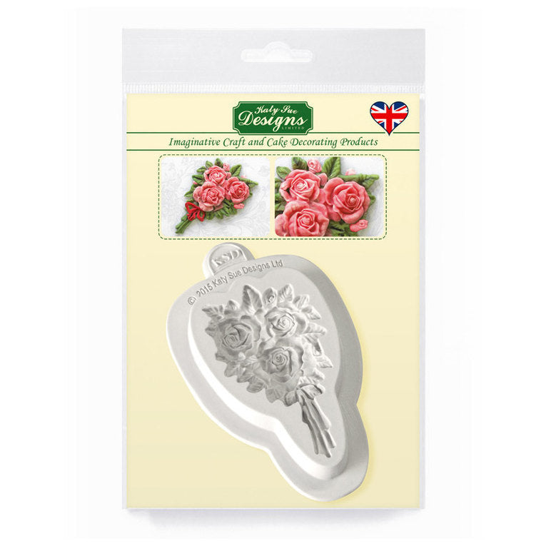 C&D - Rose Bouquet Silicone Mold Pack Shot