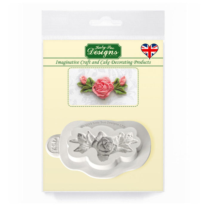 C&D - Rose, Bud & Leaf Decoration Mold Pack Shot